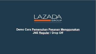 Demo Cara Pemenuhan Pesanan Menggunakan JNE Regular / Drop Off