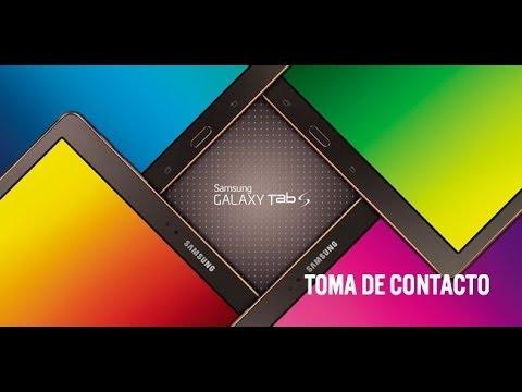 Samsung Galaxy Tab S, primeras impresiones en vídeo