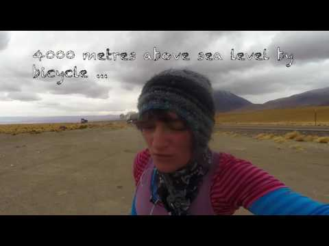 4000 Metres Above Sea Level By Bicycle (Video 1)