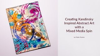 Copying Old Masters to Inspire Mixed Media Abstract Art