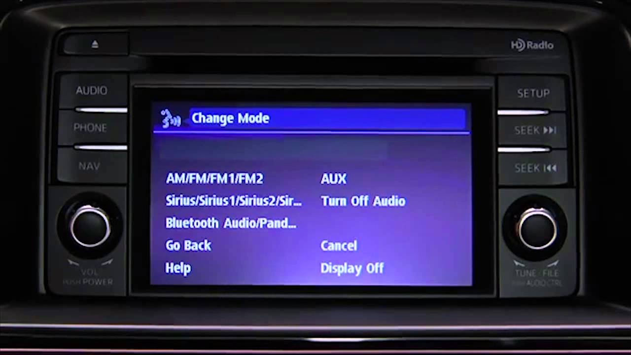 Mazda Mazda6: Bluetooth Audio