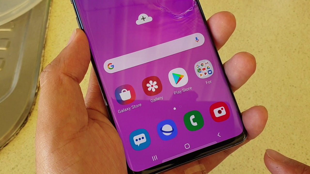 Samsung Galaxy S10 / S10+: How to Enable / Disable Wifi Connection