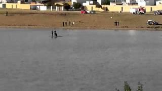 Desahuciado en la isleta del rio Guadiana