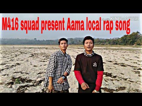 Aama rap song //M416 squad // Manish gurung feat jyotish/nepali rap song