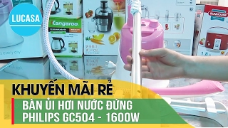 Bàn ủi hơi nước Philips GC504 - Philips garment steamer daily Touch GC504