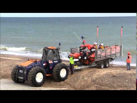 happisburgh lifeboat youtube