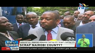 Governor Sonko dismisses the proposal to place Nairobi county under National Government