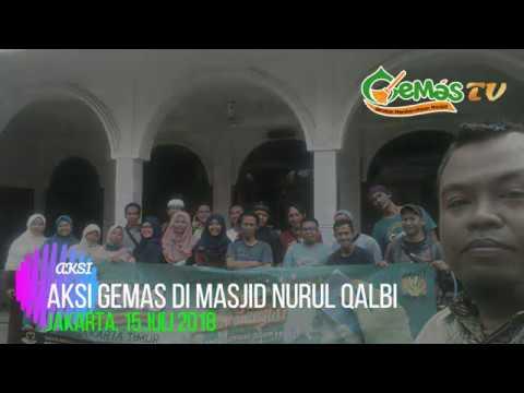 Aksi GEMAS di Masjid Nurul Qalbi