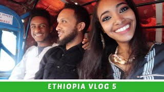 Ethiopia Vlog 5 Taking Public Transportation for the First Time & Most Beautiful Mall | Amena