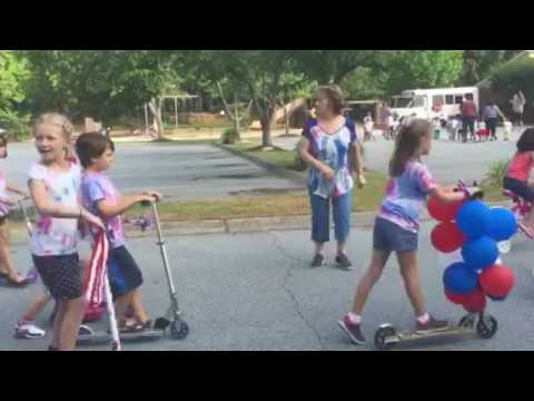 Montessori School of Mauldin 4th of July Parade 2016