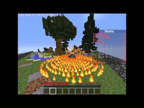 Minecraft Bending Tutorial #1 FIRE-BENDING AND LIGHTNING-BENDING