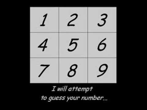Pick a number (Interactive trick) - YouTube