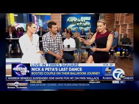 Nick & Peta DWTS 25 Exit Interview - GMA