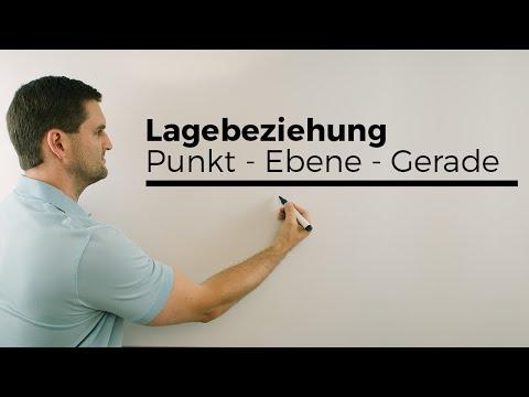 Lage von 2 Geraden, Beispielrechnung, Vektorgeometrie   Mathe by Daniel Jung from YouTube · Duration:  3 minutes 43 seconds