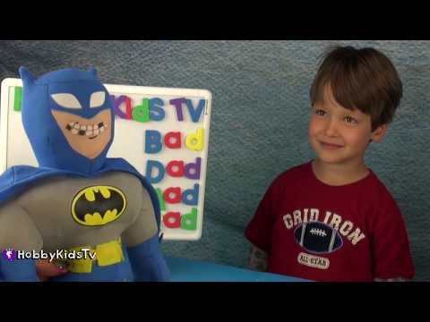 Learning Words and  Surprise Bag! Lego Star Wars Ninjago By HobbyKidsTV