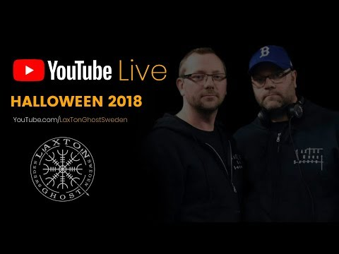 LIVE | HALLOWEEN 2018 - LaxTon Ghost Sweden