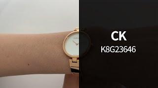 CK K8G23646 메탈시계 리뷰 영상 - 타임메카