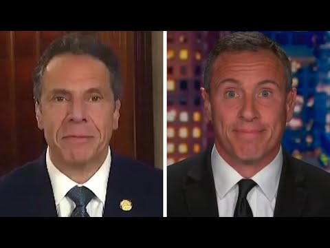 Andrew Cuomo Jokes He's 'SUPERIOR' to Younger Brother Chris