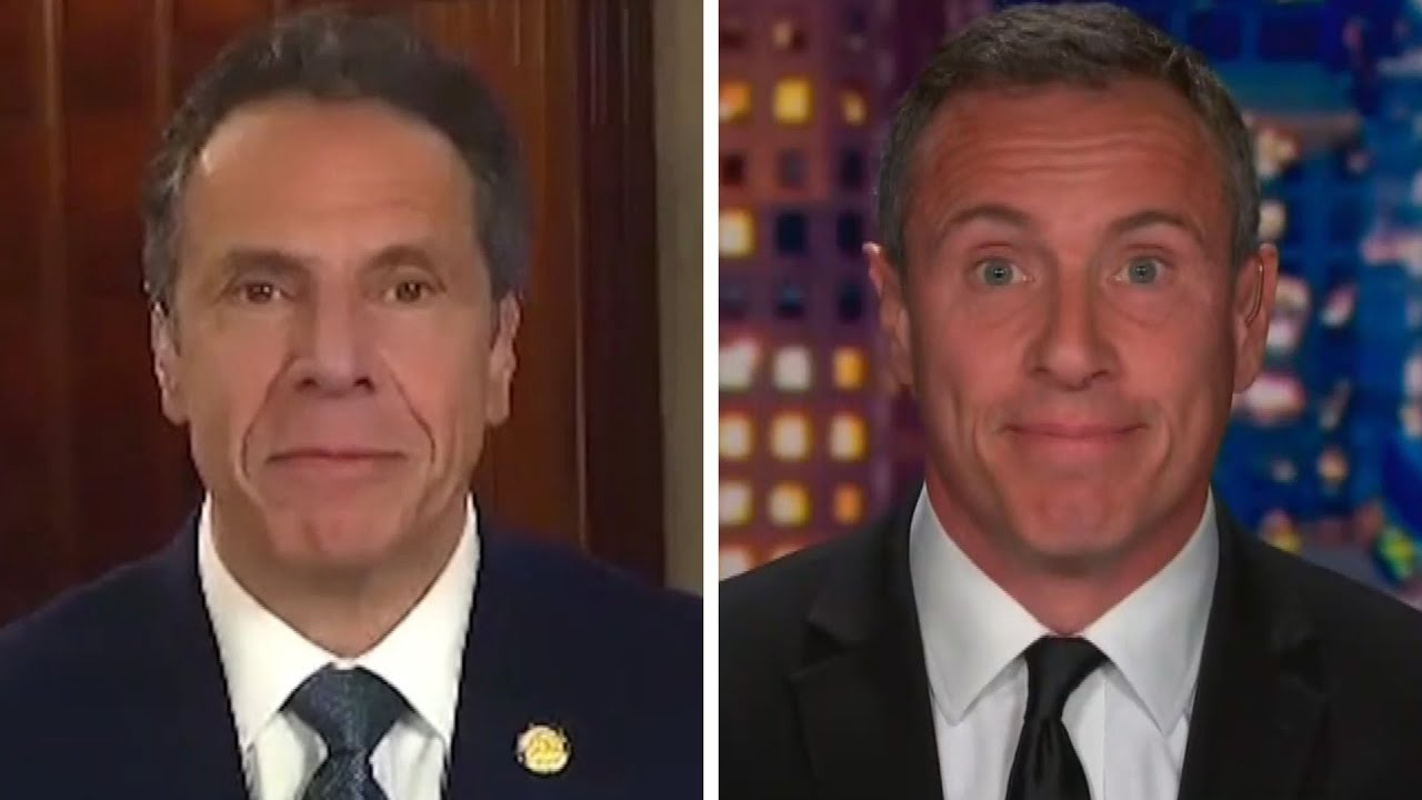 Andrew Cuomo Jokes He S Superior To Younger Brother Chris Youtube