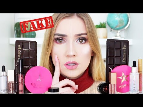 TESTING REAL vs FAKE Makeup from Ebay !!