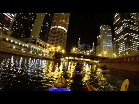 Downtown Chicago River Nite Kayak