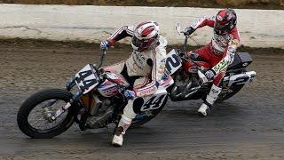 2014 Grays Harbor Half-Mile LCQ, Dash for Cash and Semi Races - AMA Pro Flat Track