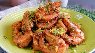 These were So Good! We Just Kept Eating! Kam Heong Prawns 甘香明虾 Chinese Restaurant Shrimp Recipe