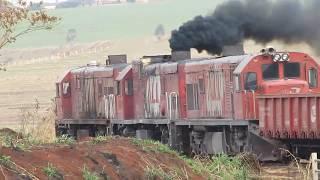 Melhores momentos de todos meus vídeos de trem HD