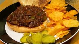 BEST EVER Sloppy Joe Recipe - Homemade Sloppy Joe