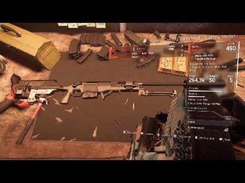 division 2 nemesis blueprint