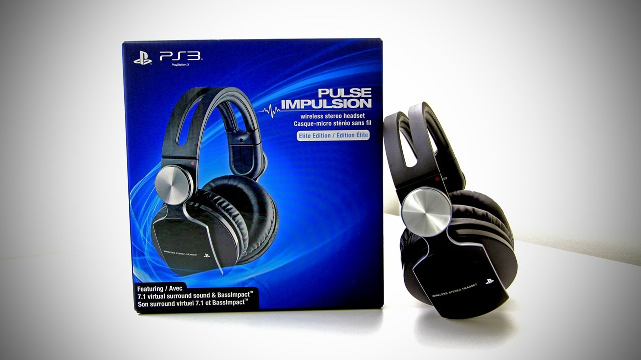 Wireless stereo headset for playstation 3 review gaming space.