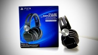 PS3 PULSE Wireless Stereo Headset Elite Edition Unboxing (New PlayStation 3 Wireless Gaming Headset)