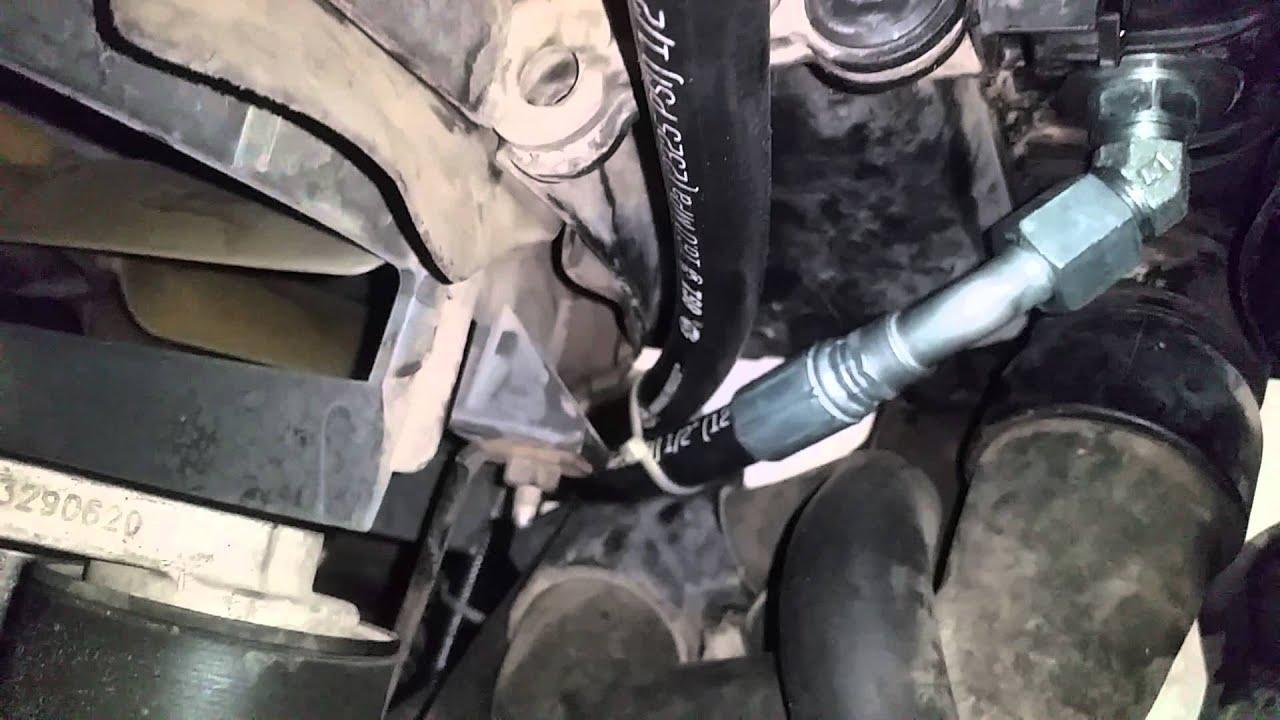Duramax transmission cooler line upgrade kit  YouTube