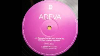 (1997) Adeva - The Way That You Feel [Mark Picchiotti RMX]