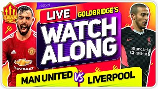 MANCHESTER UNITED vs LIVERPOOL With Mark GOLDBRIDGE LIVE