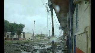 Hurricane Kenna Raw footage Pa