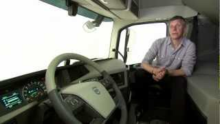 Volvo Trucks - A cab designed for the driver (new Volvo FH)