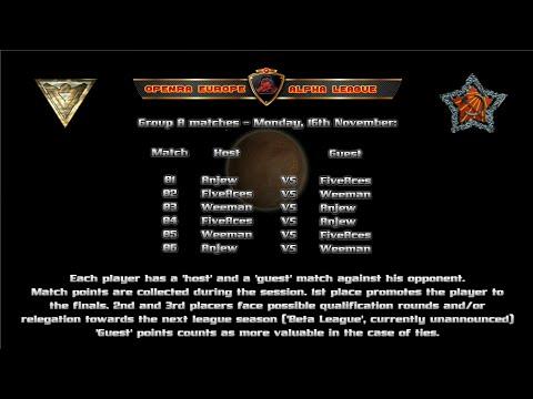 OpenRA (RA.EL), Season Alpha,  Group A (part 1)