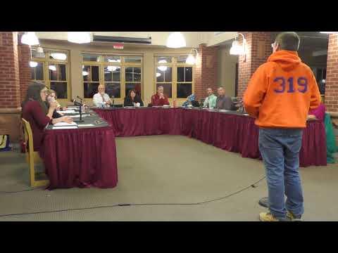 School Board Meeting 11-7-2017