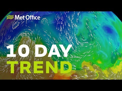 10 Day trend – It's getting colder, what about snow? 05/12/18