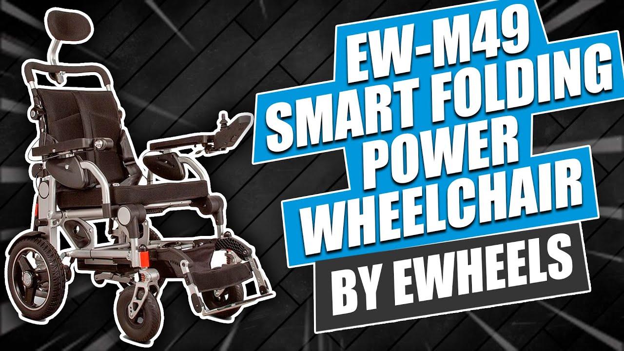 EW-M49 Smart Folding Power Wheelchair by Ewheels