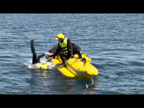 Thumbnail: Jono and Ben ride a Banana Boat across the Cook Strait #CookCrusade Part 2
