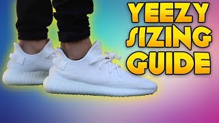 Yeezy Boost 350 V2 Sizing Guide - YouTube