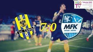 SFC Opava - MFK Frýdek-Místek (7:0) /OSLAVY 1. MÍSTA A POSTUPU/ 25.5.2018