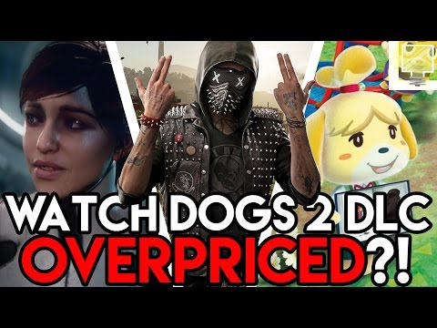 Watch Dogs 2 Season Pass COSTS WHAT? & A MYSTERIOUS Mass Effect  Andromeda Character!