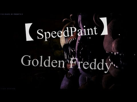 【SpeedPaint】 Golden Freddy Pony