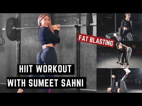 Full Body Fat Burning HIIT Workout W/ Sumeet Sahni   EHP Labs