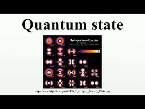 Quantum state