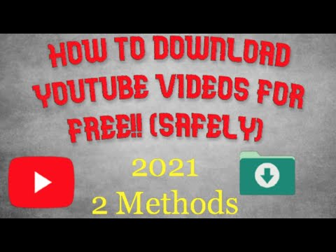 Download How To Download Youtube Videos For Free 2021 (2 methods) NOT CLICKBAIT
