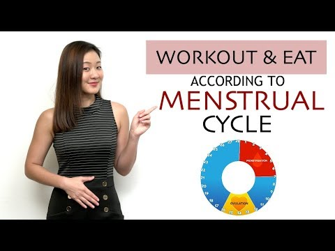 How to Workout & Eat According to Your MENSTRUAL CYCLE & Lose Weight   Joanna Soh